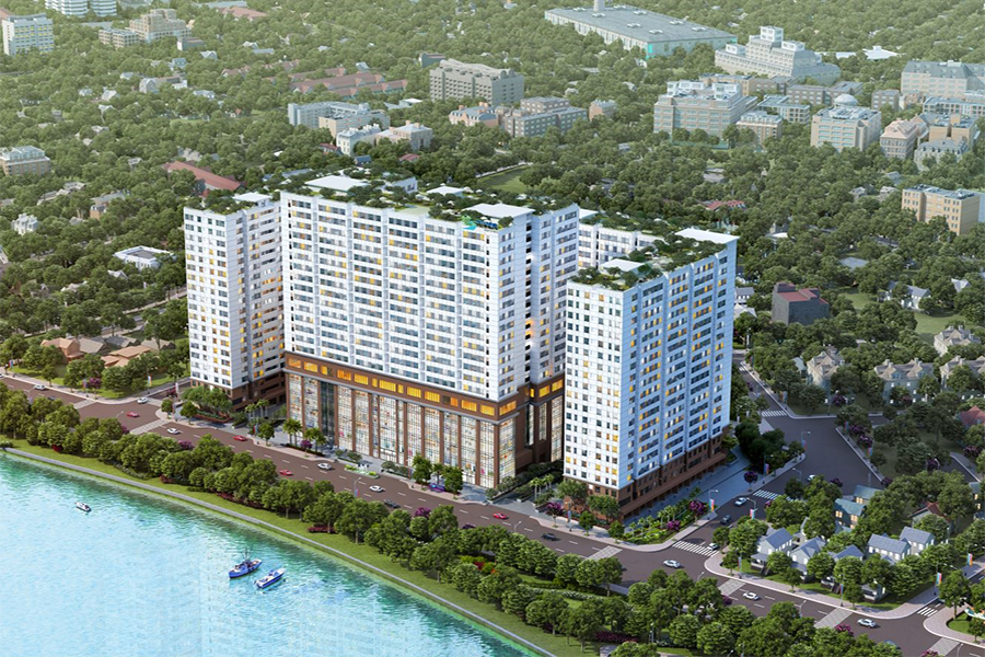 Căn hộ Green River Apartment