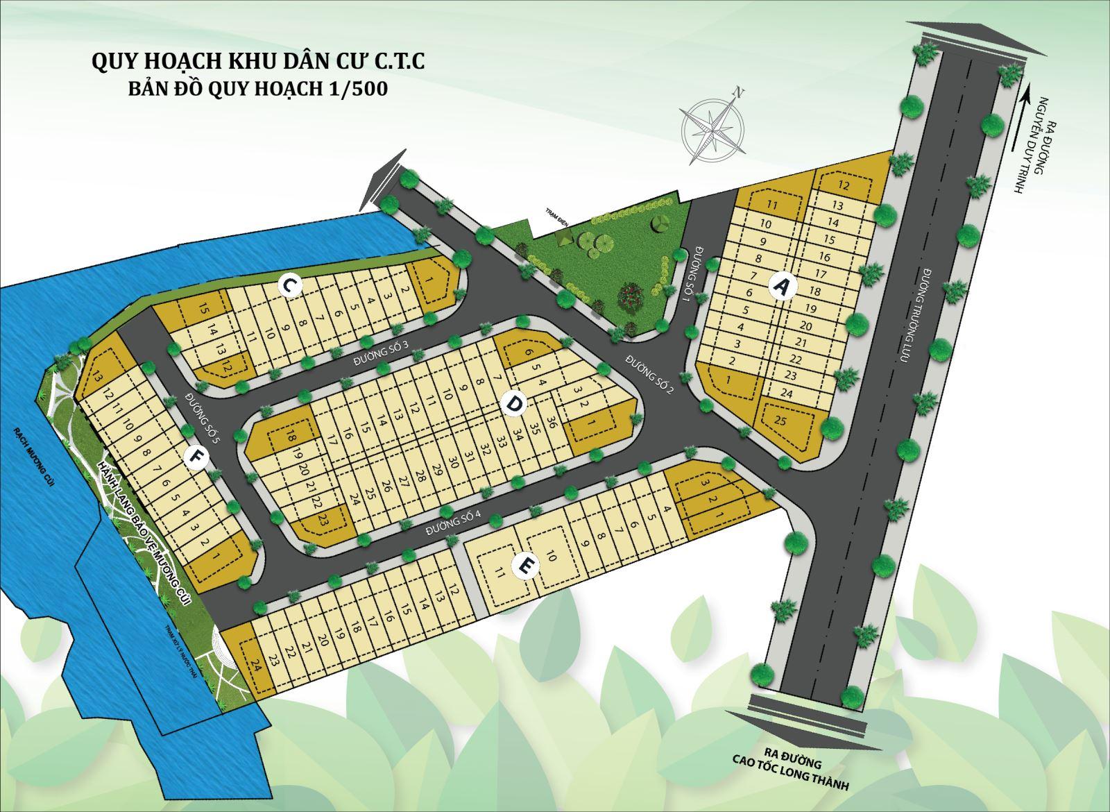 Khu dân cư CTC Trường Lưu Quận 9